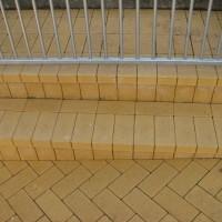 Laiptai iš trinkelių