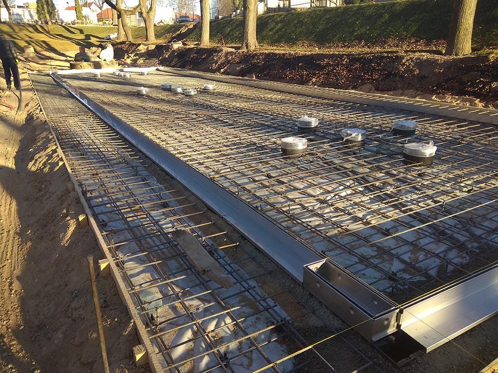 betonavimo darbai lauke