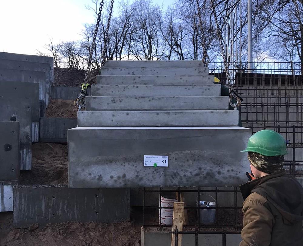 laiptu betonavimas kaina