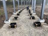 lauko betonavimas