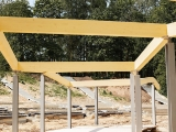 terasos stogo konstrukcija