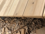 terasos grindu irengimas