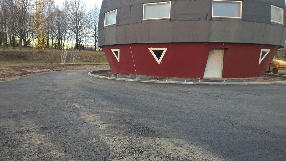asfalto klojimas