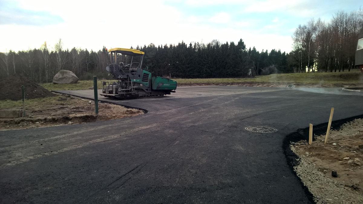 kelio asfaltavimas