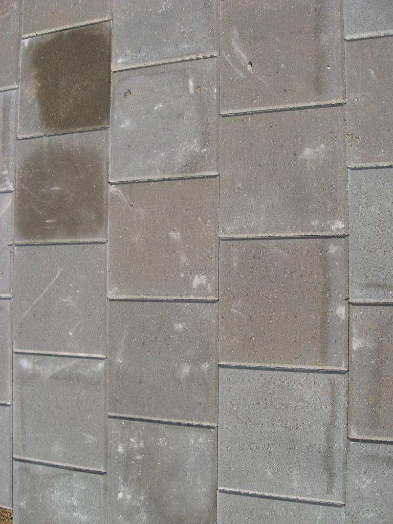 didesnių betoninių trinkelių raštas