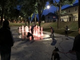 lauko fontano irengimas