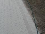 betoninių trinkelių rašto užbaigimas