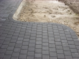 betono trinkelių lankstas