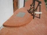 laiptas iš trinkelių